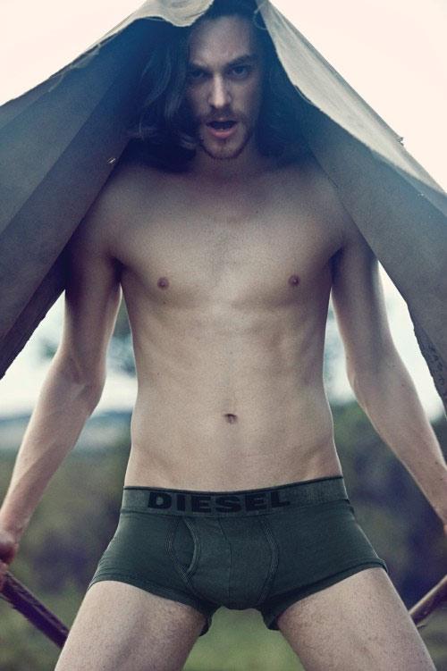 Tutti gli uomini, in intimo, dell'autunno caldo di Diesel