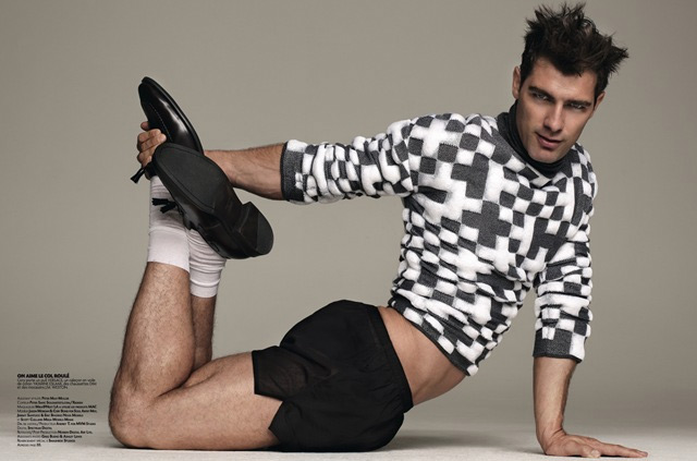 Action Men: su Têtu l'omaggio di Klam al Versace anni '90