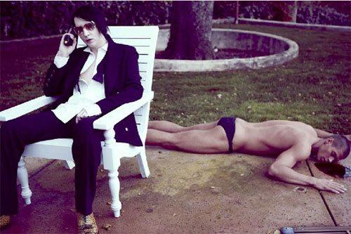 Chad White e Marilyn Manson