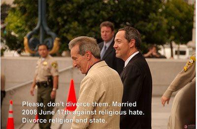 L'urlo delle coppie in California: