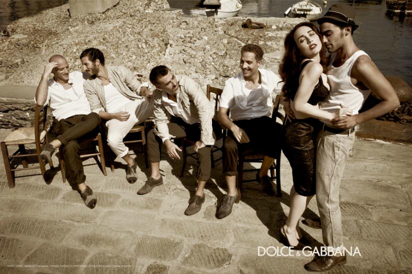 Dopo Madonna, D&G fotografano al Sud gli attori italiani