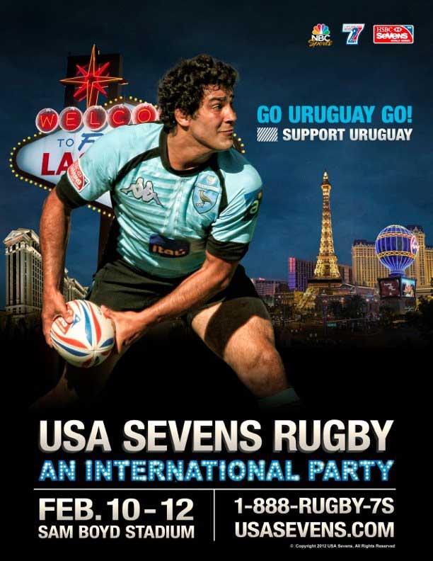 Las Vegas invasa dal rugby (e dai rugbisti)