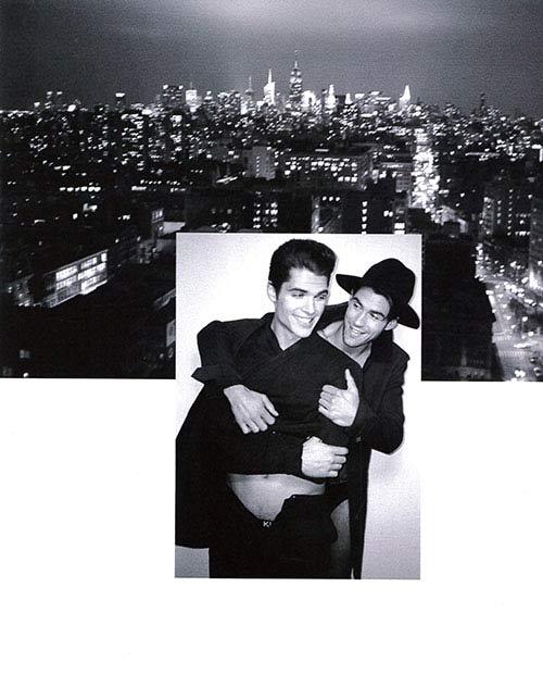 Chad e Brian: una storia d'amore lunga un set fotografico