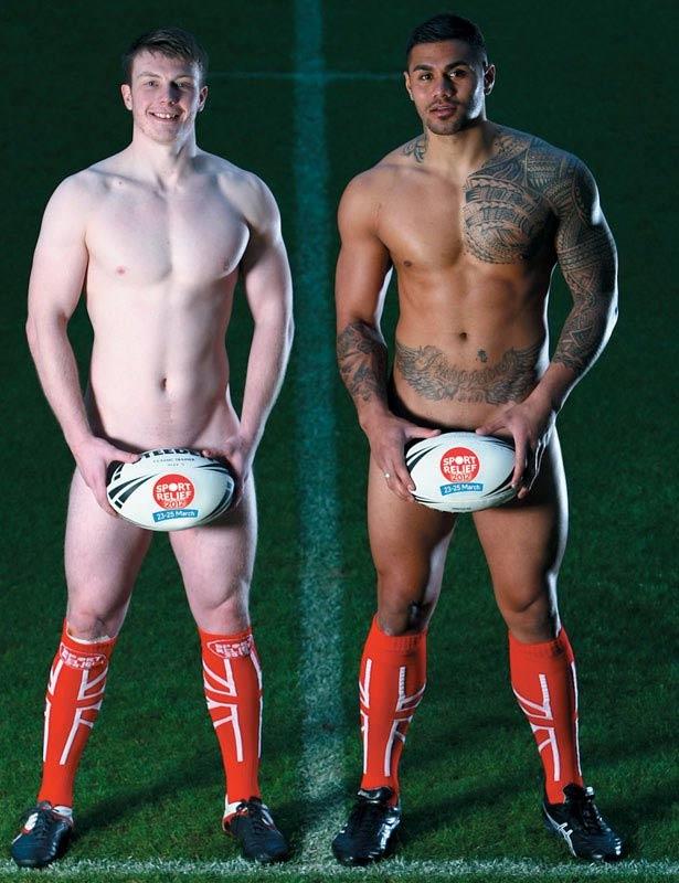 Rugbisti inglesi nudi per beneficenza