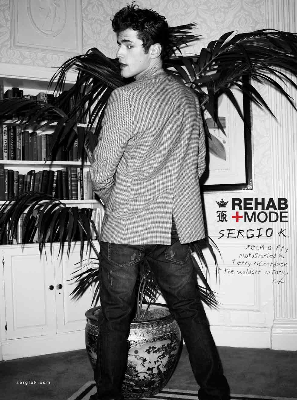 Sergio K: rehab è moda con Sean O'Pry e i gemelli Patriota