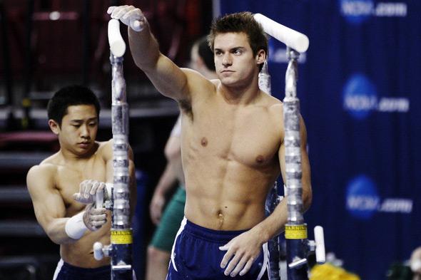 Il bello della ginnastica? Gli atleti che si allenano