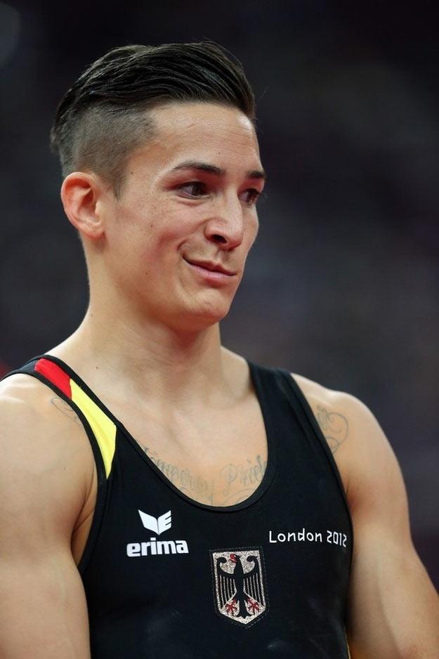I ginnasti tedeschi a Londra 2012
