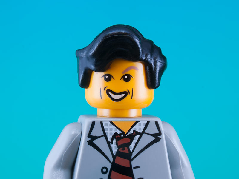 Le icone della cultura diventano personaggi Lego