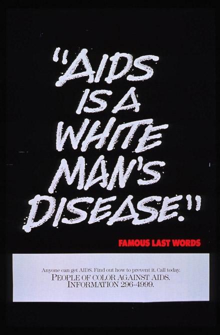 Trent'anni di poster contro l'Aids e i pregiudizi