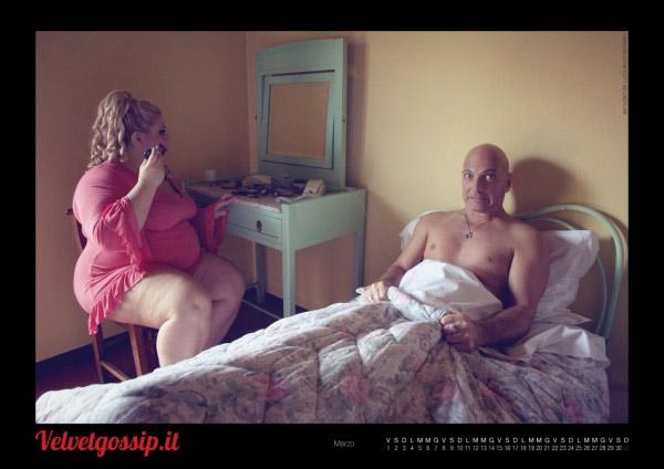 Vita quotidiana di una pornostar: il calendario di Franco Trentalance