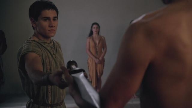 Christian Antidormi è Tiberius in