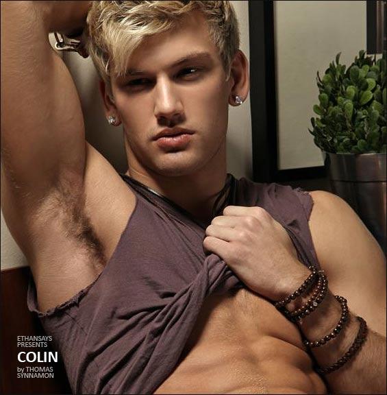 Colin fotografato da Thomas Synnamon
