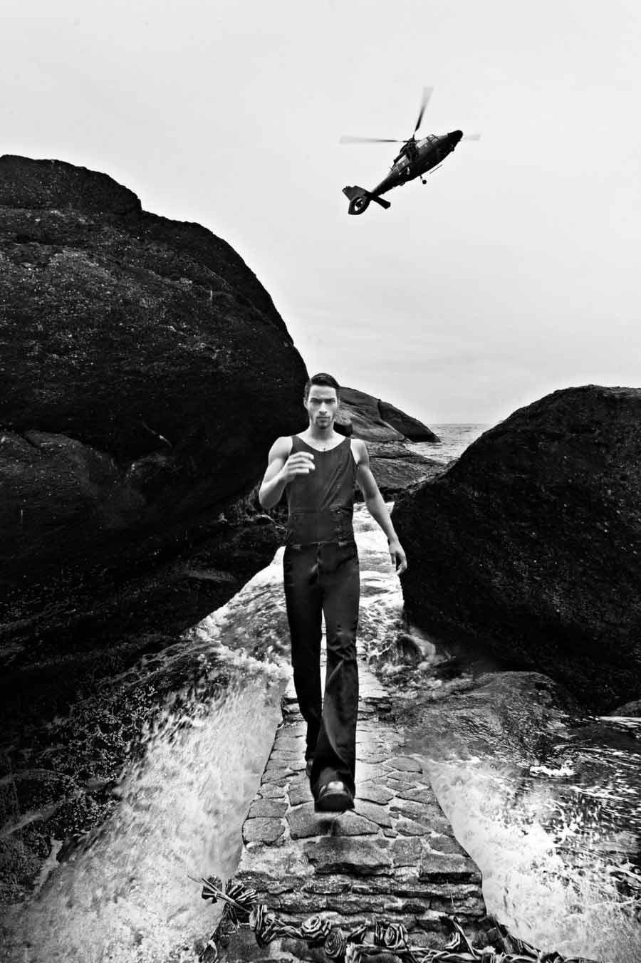 Il brasiliano Pablo Morais fotografato da Brian Haider per Romeu