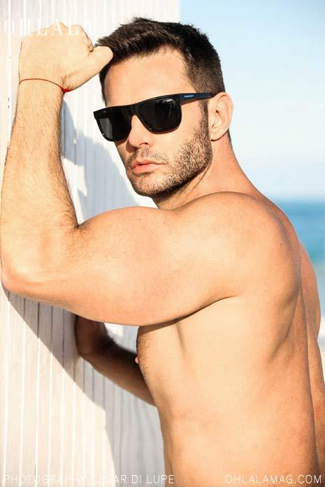 Rafael Calvente, il dj diventato modello