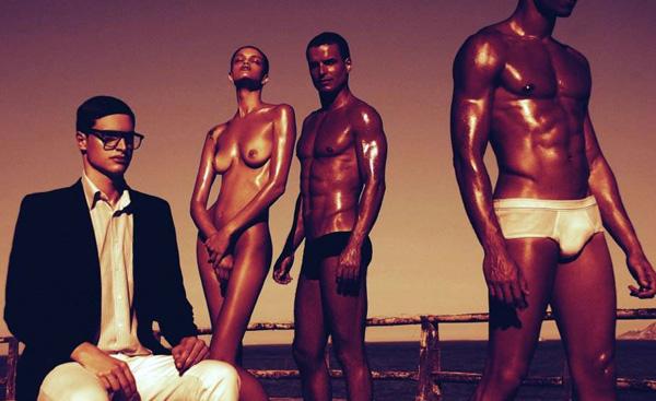 I modelli brasiliani del giovane fotografo