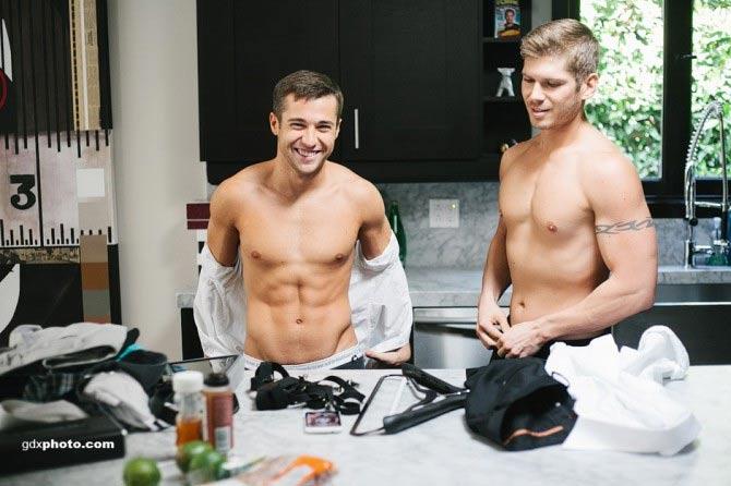 L'album di foto di Colby e Brandon, modelli e fidanzati