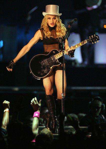Madonna a Cardiff: le immagini