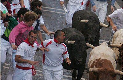 Pazzi per i tori spagnoli