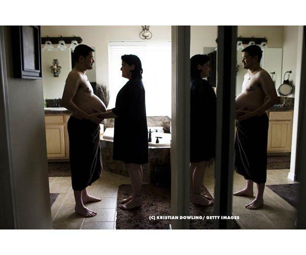 Trans incinto: le foto di Thomas Beatie