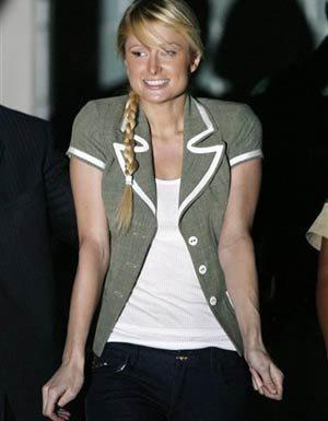 Paris Hilton libera