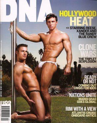 Randy Blue in costume su DNA