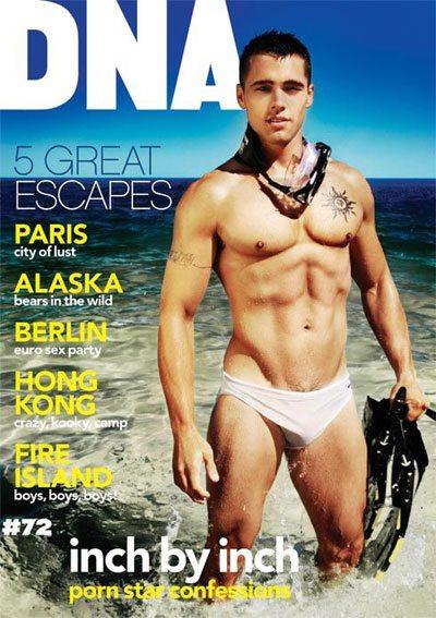 Jason B. è il cover boy di DNA