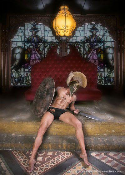 L'intimo dei gladiatori machi