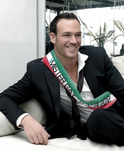 Alessio Cuvello si gioca il titolo di Mister Gay Universe