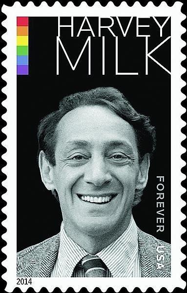 Harvey Milk francobollo