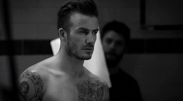 Anteprima della nuova collezione di intimo di david Beckham per H&M