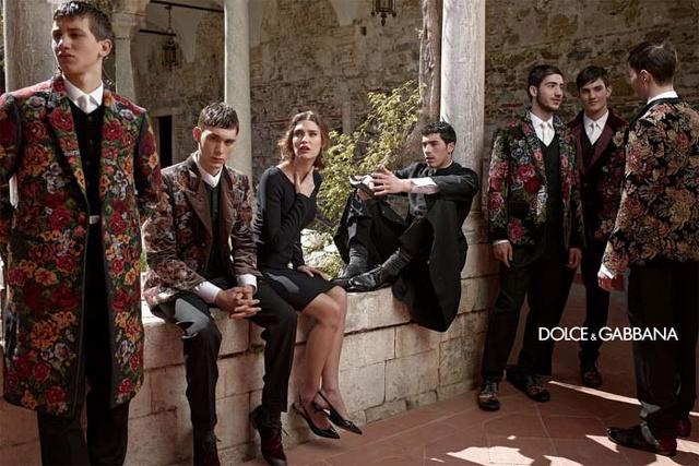 D&G: la collezione A/I 2013/14 con gli scatti di Domenico Dolce