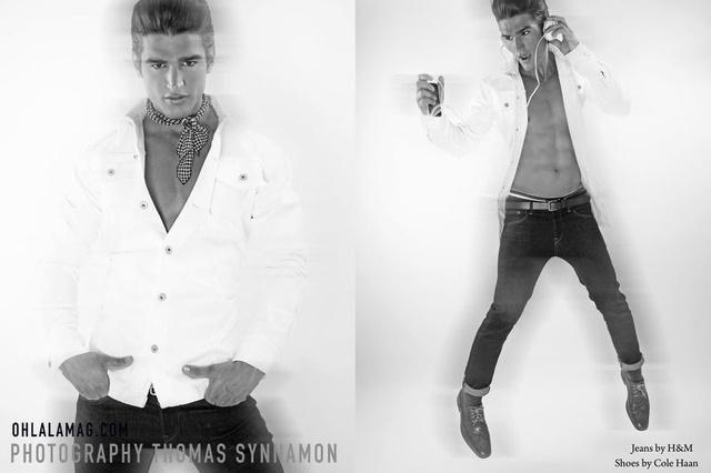 Baptiste Giannesini fotografato da Thomas Synna
