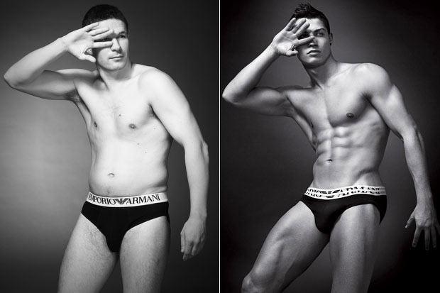 Uomini comuni invece di modelli: la pubblicità di intimo sarebbe così