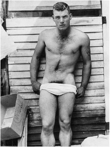 Vintage: sexy in underwear molto ptima di Beckham
