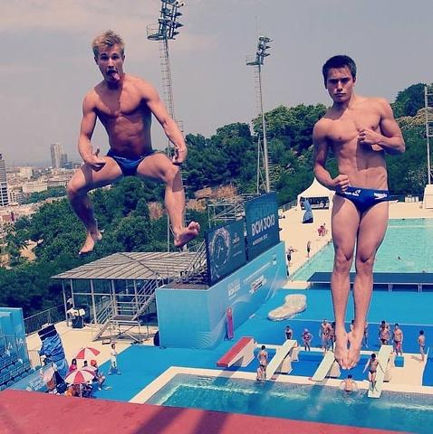 Mondiali di nuoto: Tom Daley e gli altri dal trampolino di Barcellona