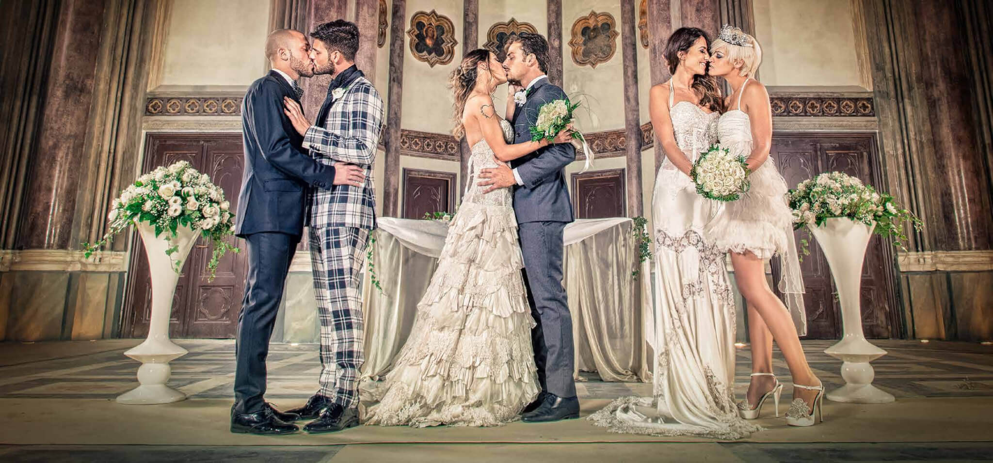 È sposa, la fiera del matrimonio gay