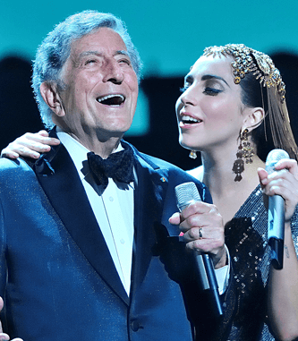 Lady Gaga e Tony Bennet ad Umbria Jazz Festival