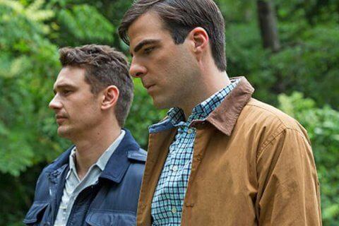 prime immagini del nuovo film di Zachary Quinto e James Franco
