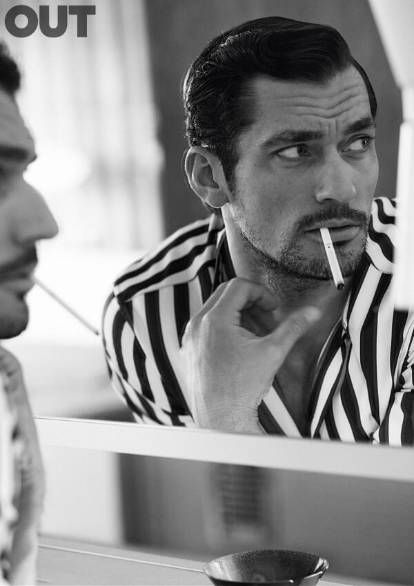 David Gandy sexy su Out: