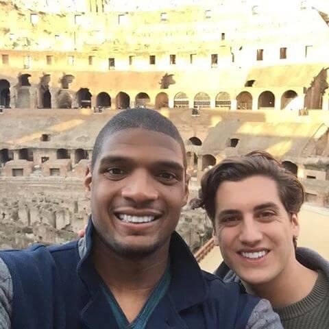 Michael Sam e Vito Cammisano: proposta di matrimonio a Roma
