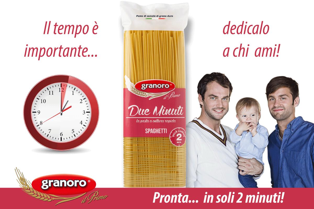 Pasta Granoro: una nuova pubblicità gay-friendly