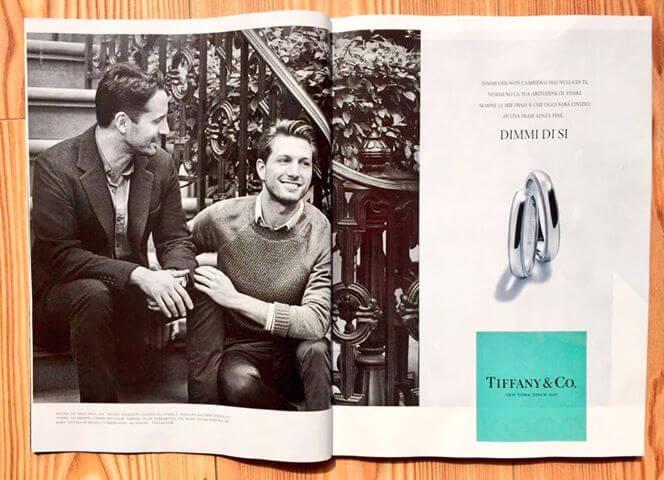 La pubblicità gay-friendly di Tiffany arriva in Italia