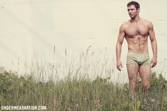 Underwear Nation e il sexy Justin Leonard