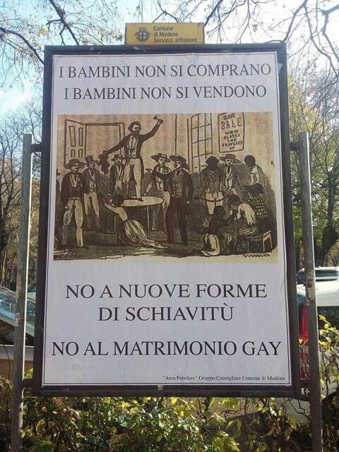 Adozioni gay? Secondo Giovanardi sono una nuova forma di schiavitù
