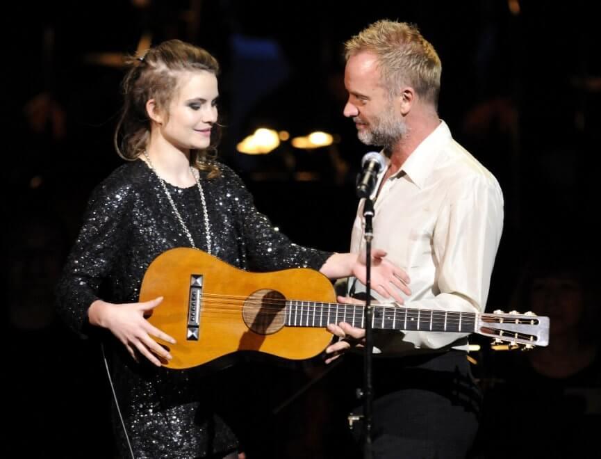 La cantante Eliot Sumner, figlia di Sting, fa coming out