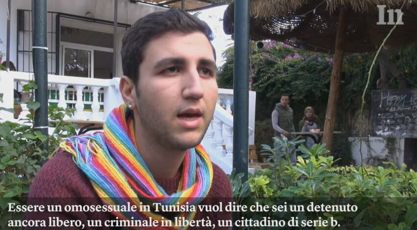 Gay in Tunisia: reportage dell'Internazionale
