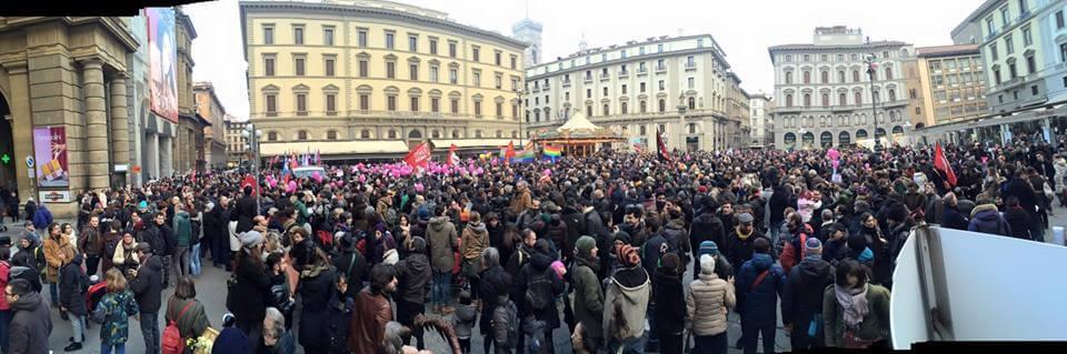 L'Italia è sveglia: oltre un milione di persone civili in 98 piazze!