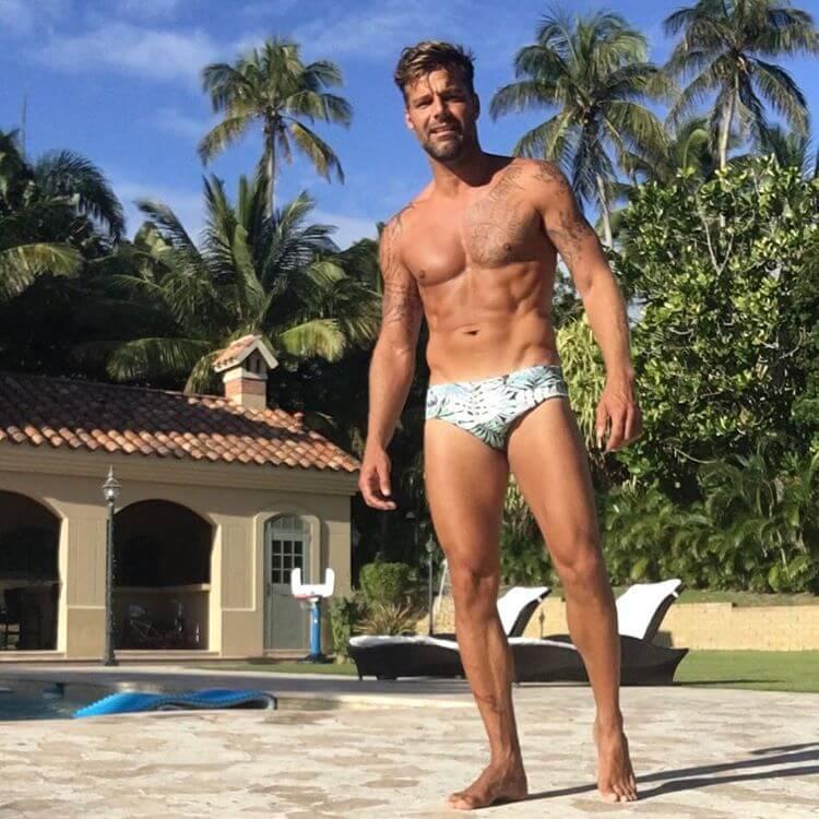 Ricky Martin bello più che mai su Instagram