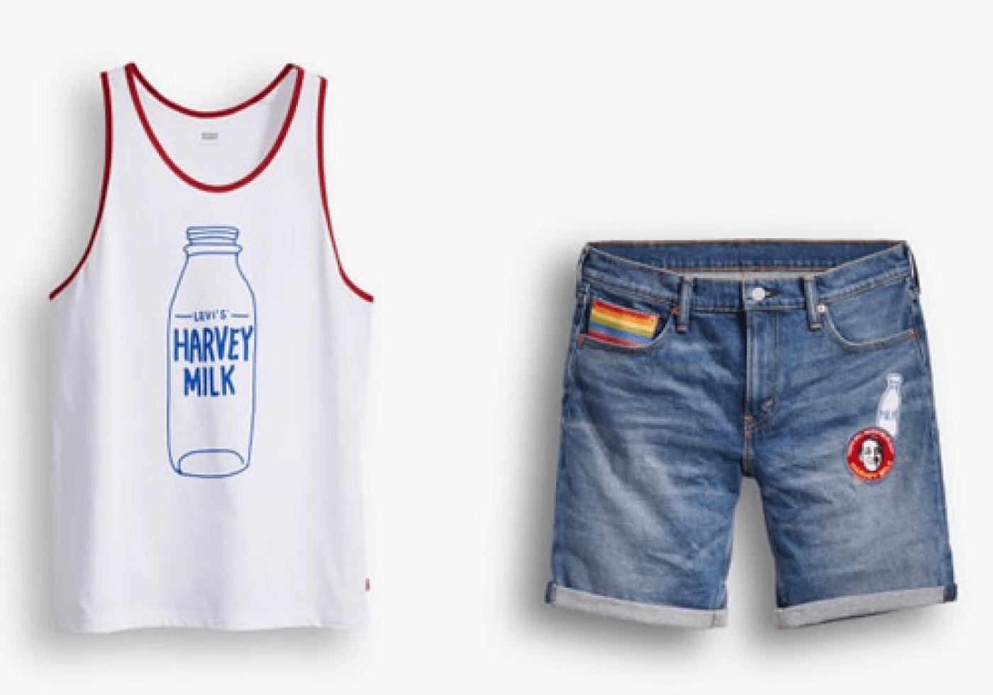 LEVI'S_Harvey_Milk Foundation_Pride_2016_collection