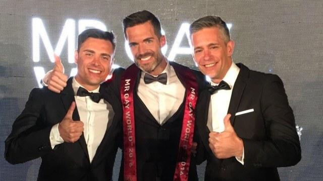 Roger Gosalbez è Mr Gay World 2016!
